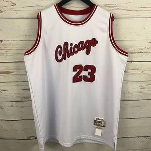 quite nice 1c21e c1798 Michael Jordan Chicago Bulls Jersey RETRO RELEASE